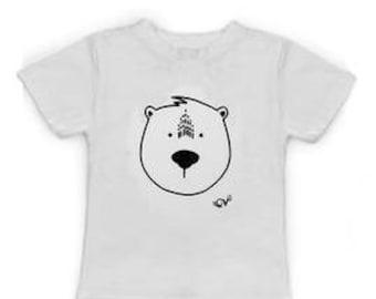 Coton Vanille T-Shirt : Polar Bear