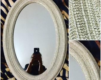 Rhinestone Wall Mirror mirror / 31 rhinestone mirror / wall mirror / bling