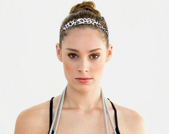 Animal print Headband, Non slip Workout Headband, Performance Headband, Cute Workout Gift