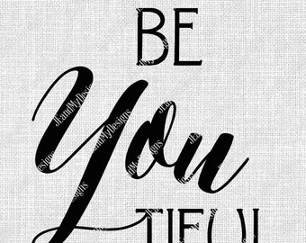 Be You Tiful Svg Etsy