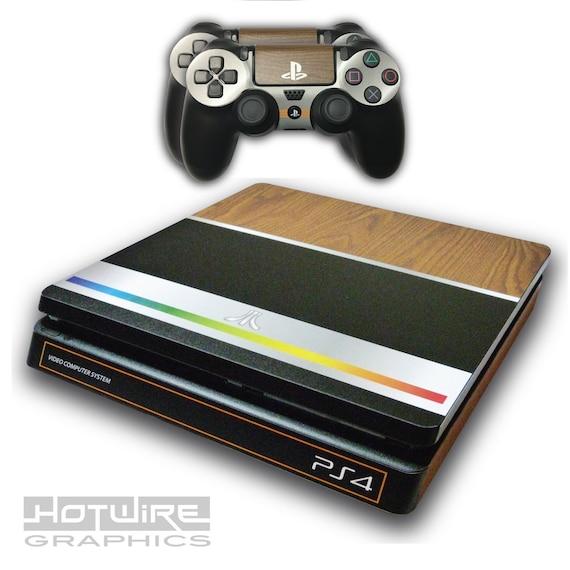 PS4 slim console Atari Skin