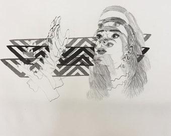 Trippy Print