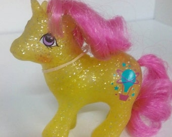 My Little Ponies-Baby Sparkle Ponies-Gusty-MINT!!