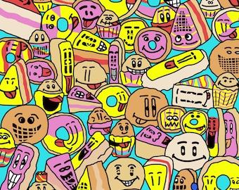 Sweets A4 Print
