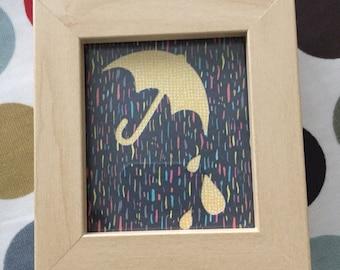 Drip drop cut art