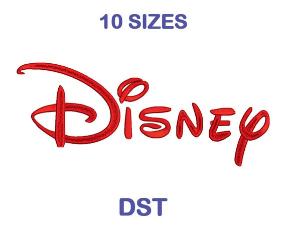 Disney Embroidery Font 10 Size Dst Format Embroidery