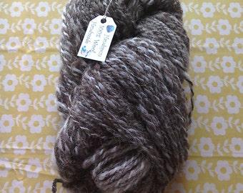 100% Hand Spun Natural Jacobs Sheep Wool