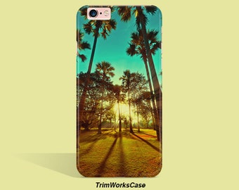 Summer iPhone 7 Case, Palm Tree iPhone 6  Case Tropical iPhone Case  iPhone 6 Case iPhone 6 plus Case  iPhone 5 Case Galaxy S6 Case