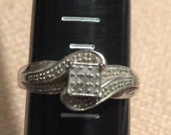 Nice Sterling Silver .925 Ring Size 7  3.2 grams