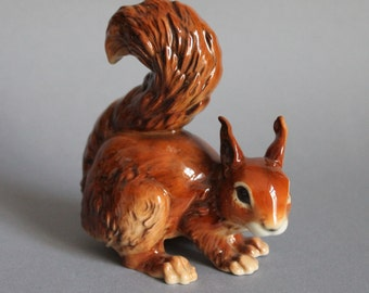 Goebel Hummel Germany Figurine Animals Of Our Forest Squirrel
