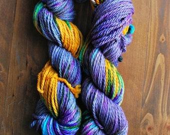 Peace, Love & Yarn, Hand Dyed Yarn, SW Bulky