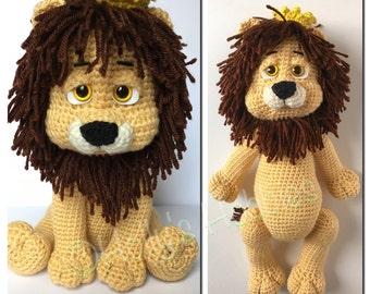 CROCHET PATTERN - Wonderful Wizard of Oz: Cowardly Lion