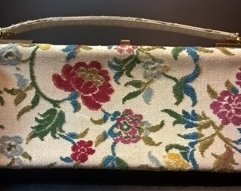 Vintage Floral Purse  **FREE SHIPPING**