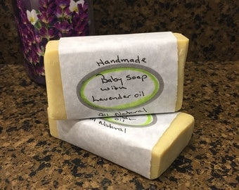Baby Soap with Lavender oil