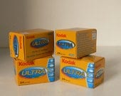 Kodak Ultra 35mm Film  Colour Film For All Conditions  24 Exposures  4 Available