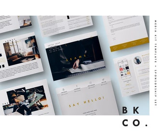 """Media Kit Template 