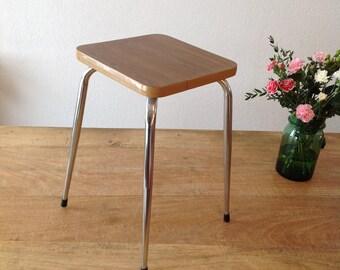 Stool Brown Formica / Brown stool