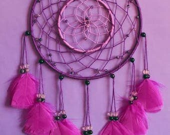 SALE Purple fluorite dreamcatcher