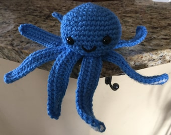 Crochet Octopus Toy, Plushie, Doll, Amigurumi
