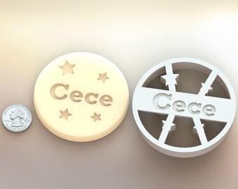 Circle Round Custom Cookie Cutter