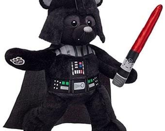 Exclusive Darth Vader Teddy Bear by Build-a-Bear