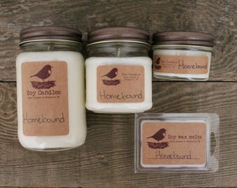 Homebound - 8 oz Soy Candle