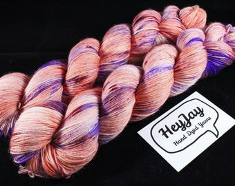Hand Dyed Sock Yarn Superwash Merino - Spring's Here