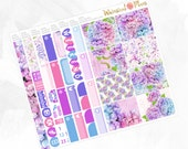 April Large Kit - Matte or Glossy Erin Condren Planner Stickers -