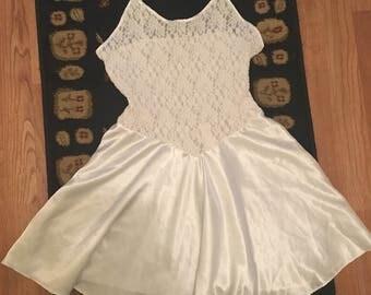 Vintage white nightgown