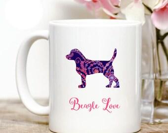 Beagle Love Coffee Mug