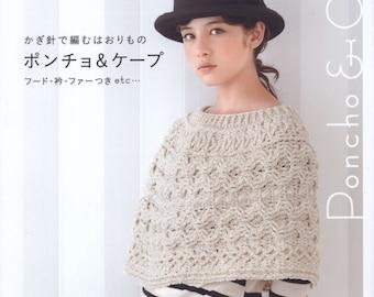 Asahi Original Poncho and Cape Asahi Original Poncho and Cape Poncho ebook Crochet poncho Crochet cape
