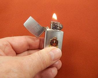 Vintage Working Cigarette Lighter with Logo