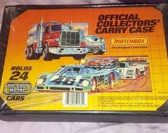 Matchbox official collectors carry case 1983 Matchbox Cars