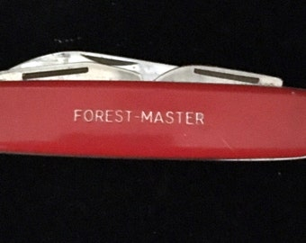 Vintage Colonial Forest-Master Pocket Knife - Free Shipping