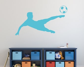 Soccer Player - Vinyl Wall Decal