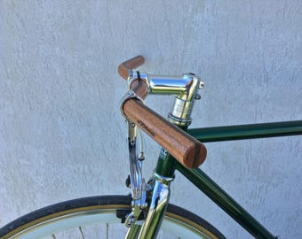 wooden Moustache bicycle handlebar