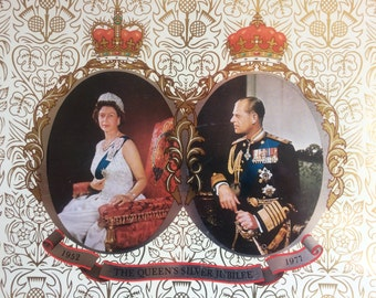 The Queen's Silver Jubilee Tray