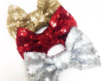 Limited Edition Sequin Bow