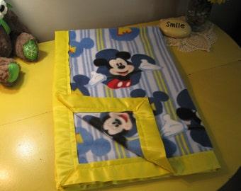 Soft Fleece Mickey Mouse Blanket
