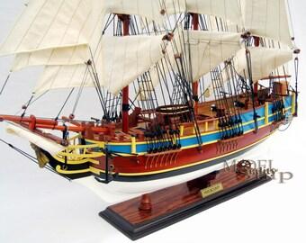 "HMS Bounty Model Ship 36"""