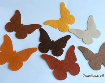 14 Brown Butterflies