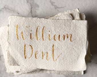 Custom Wedding Place Cards Calligraphy