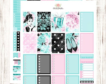 Cute Girl Sticker Weekly Kit For Happy Planner {INSTANT DOWNLOAD}