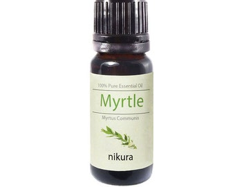 100% Pure Myrtle Essential Oil 10ml