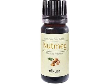 100% Pure Nutmeg Essential Oil 10ml, 50ml, 100ml