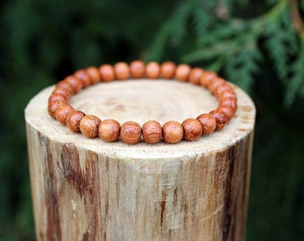 Bayong Wood Bracelet, Bayong Bracelet, Bayong Wood Bead Bracelet, Wood Bead Bracelet, Wood Bracelet, Beaded Bracelet, Men's/Women's Bracelet