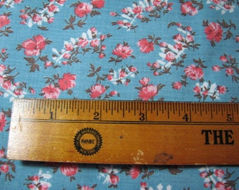 Vintage 1920s-30s fabric 34inches wide by 1&1/4 yards long