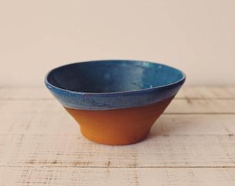 Artisan Ceramic Bowl - Ceramic Bowl - Wheel Thrown Pottery - Clay Bowl - Buddha Bowl
