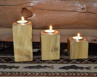 Cedar Tealight Candle Set