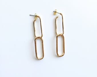 Dangle loop earrings